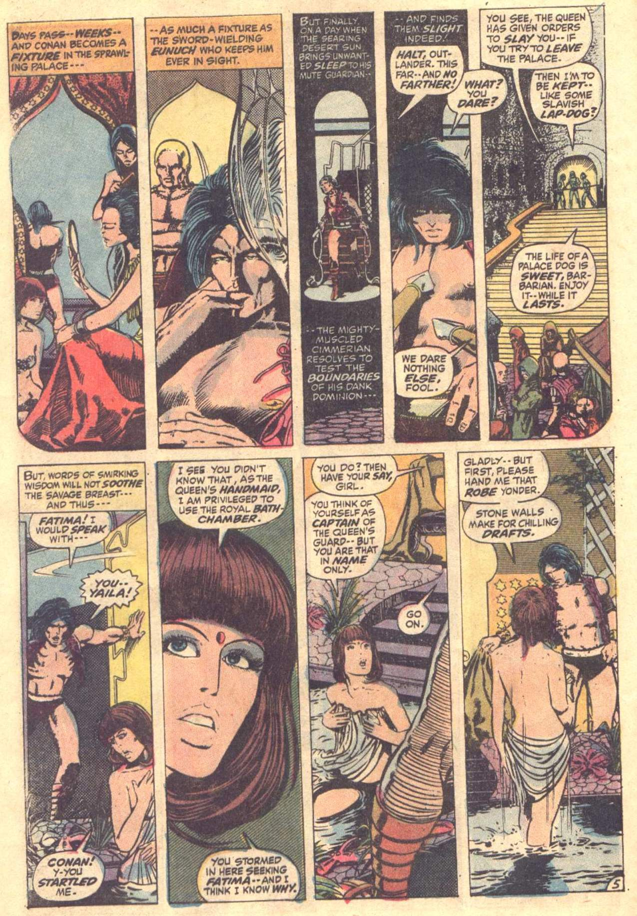 Conan the Barbarian (1970) Issue #12 #24 - English 6