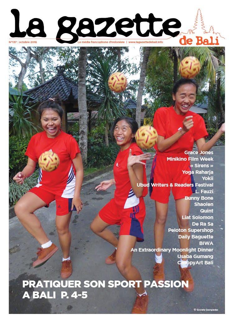 La Gazette de Bali octobre 2016