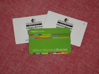 Our Library cards
