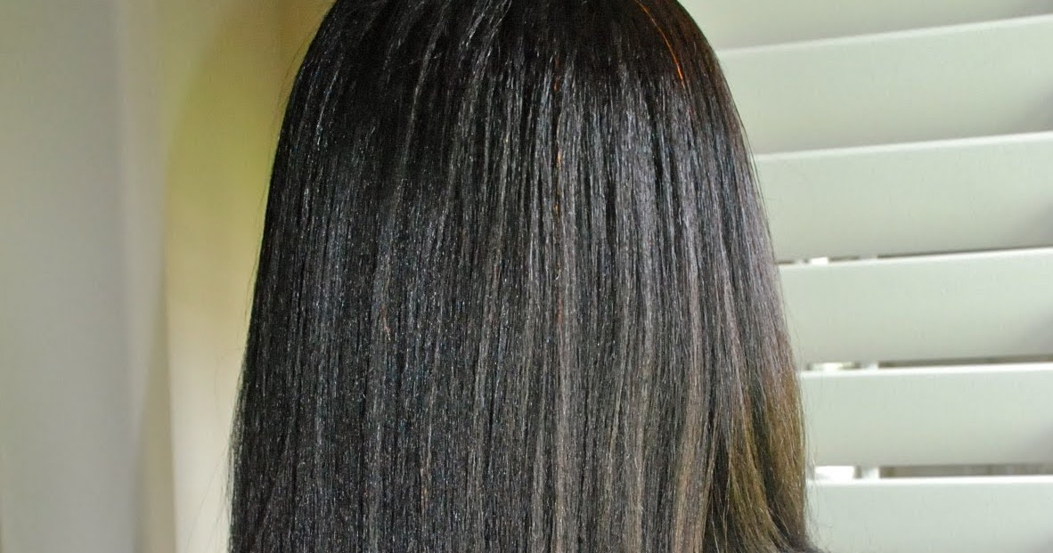 Healthy Relaxed Hair Feature: How does she get such perfect hair?
