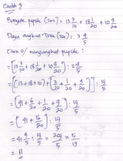 Soal Latihan UKK Kelas 5 SD Matematika Materi Operasi Hitung Campuran ~ Sekolah Al Madany