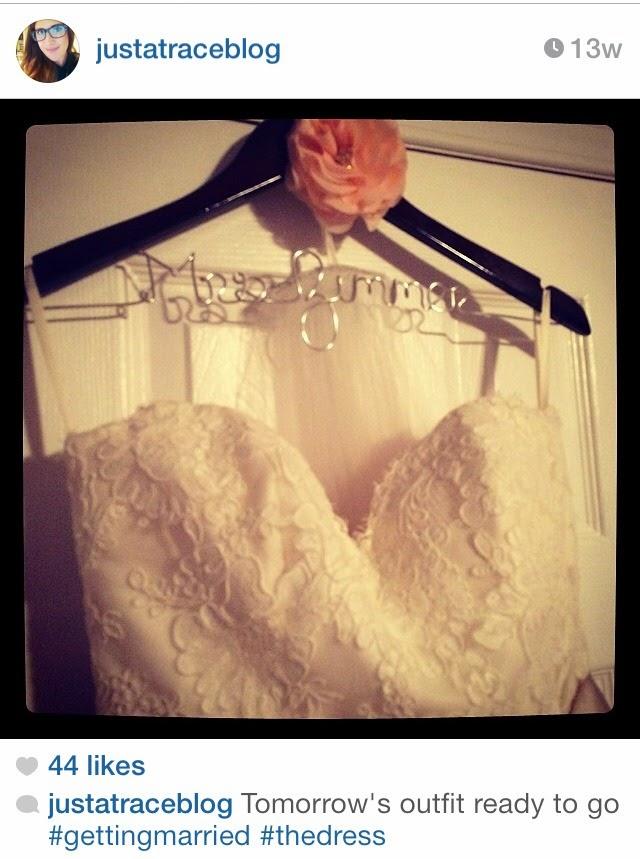 personalized bride wedding dress hanger