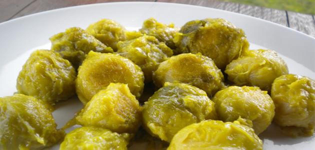 recetas vegetarianas coles de bruselas