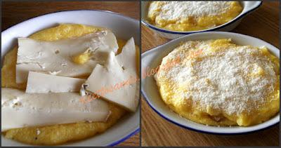Polenta ripiena di formaggio ricetta di polenta farcita gratinata a forno