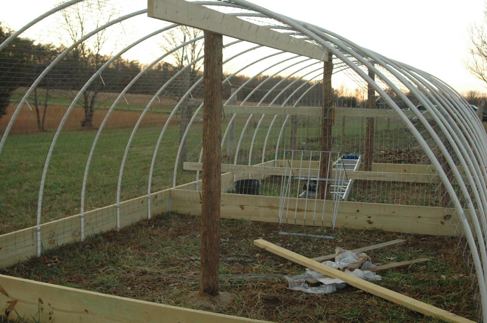 Green Legacy Farm: Hoop House II!
