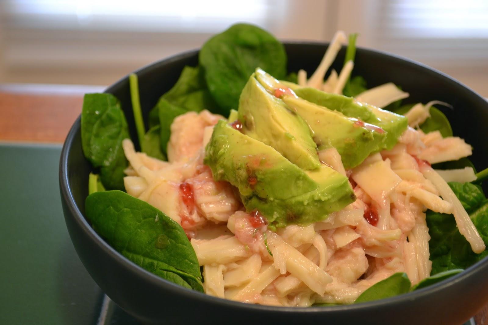 asian crab salad