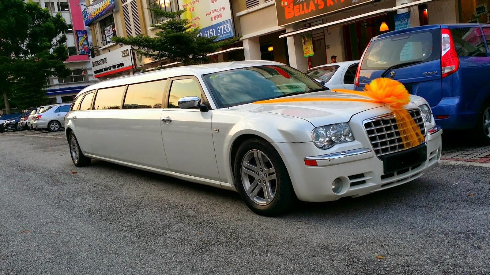 RedOrca Malaysia Wedding and Event Car Rental: Chrysler 300c limo ...