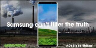 Samsung впливає на глобальне потепління, – екологи