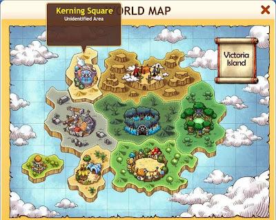 MapleStory Adventures - World Map 2