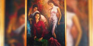 """Tiga Dara"" Siapa Tiga Wanita Cantik dalam Lukisan Maestro Basoeki Abdullah?"