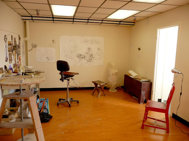 new studio at sf clayworks
