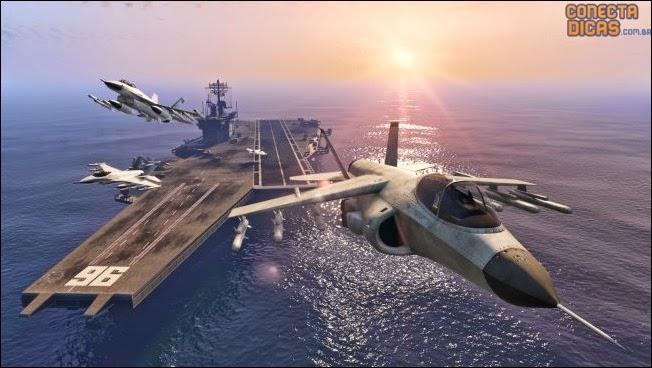 GTA V Heists - Hydra, imagens e vídeos de gameplays