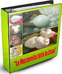 """""""La Mozzarella fatta in casa""""  la miniguida  il caciocavallo e l'mp3 guida alla mozzarella"""