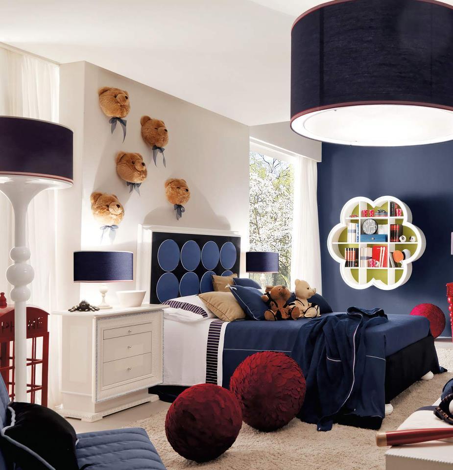 Construindo Minha Casa Clean Quartos Modernos De Meninos  ~ Quarto Casal Pequeno Armario E Quarto Branco E Vermelho