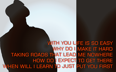 Move On - Bruno Mars Song Lyric Quote in Text Image