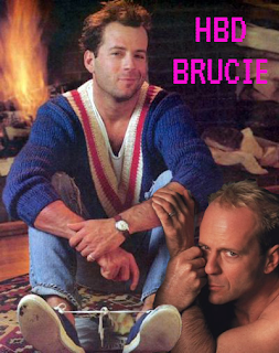 Happy Birthday Bruce Willis | Crappy Candle