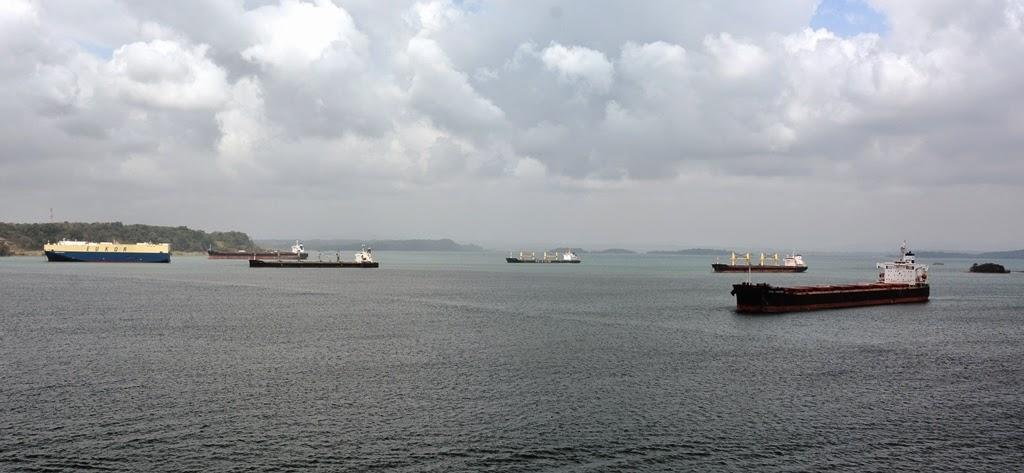 Gatun Lake Panama cargo