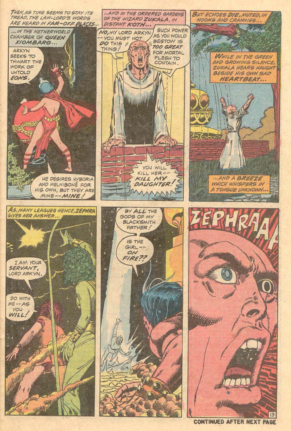 Conan the Barbarian (1970) Issue #15 #27 - English 14