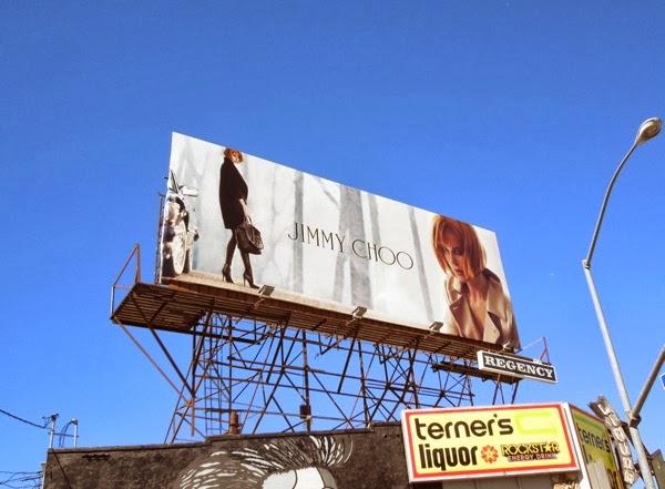 Jimmy Choo Nicole Kidman billboard
