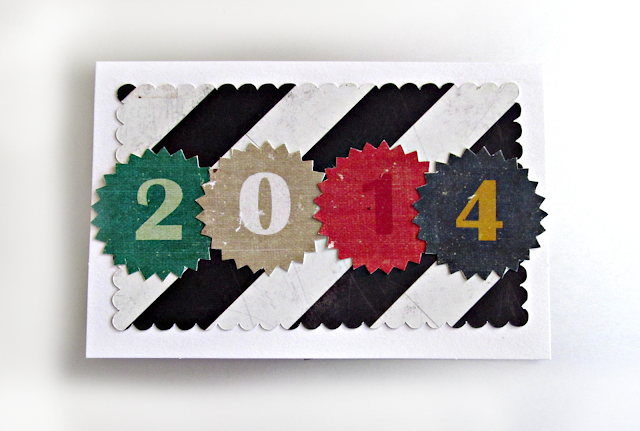 2014 New Years Card! Handmade with love! | It's Always Ruetten