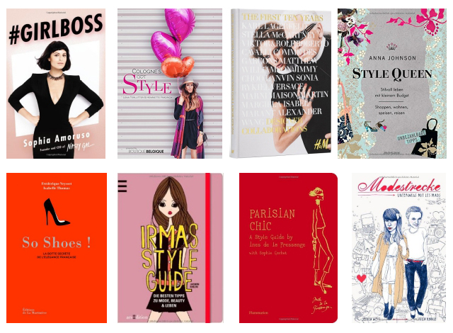 books fashionista blogger wish list christmas must reads