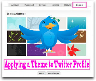 facebook tips,facebook tips and tricks,twitter tips,twitter tips and tricks,Applying Theme Twitter Profile