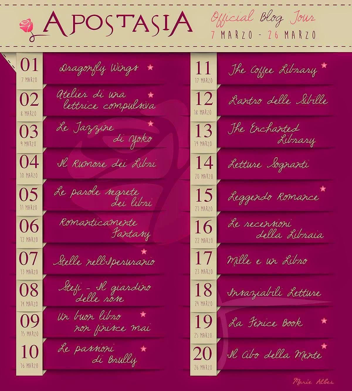 Blogtour APOSTASIA