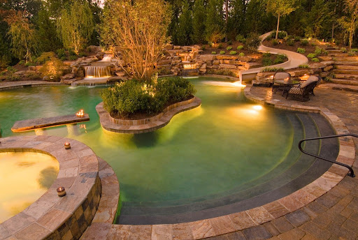 backyard pool designs backyard pool cost backyard pool water park