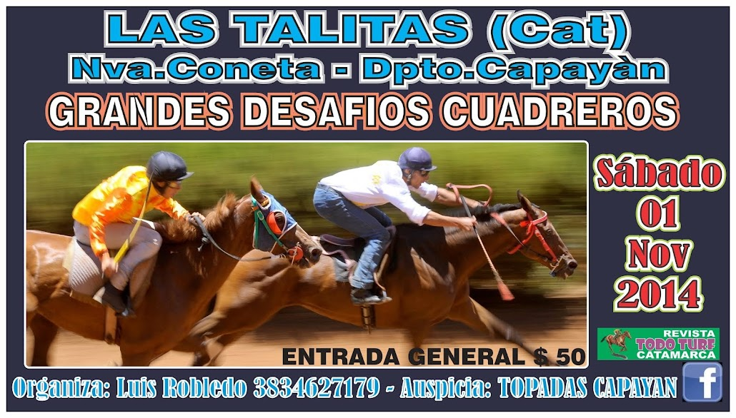 LAS TALITAS 01/11/2014