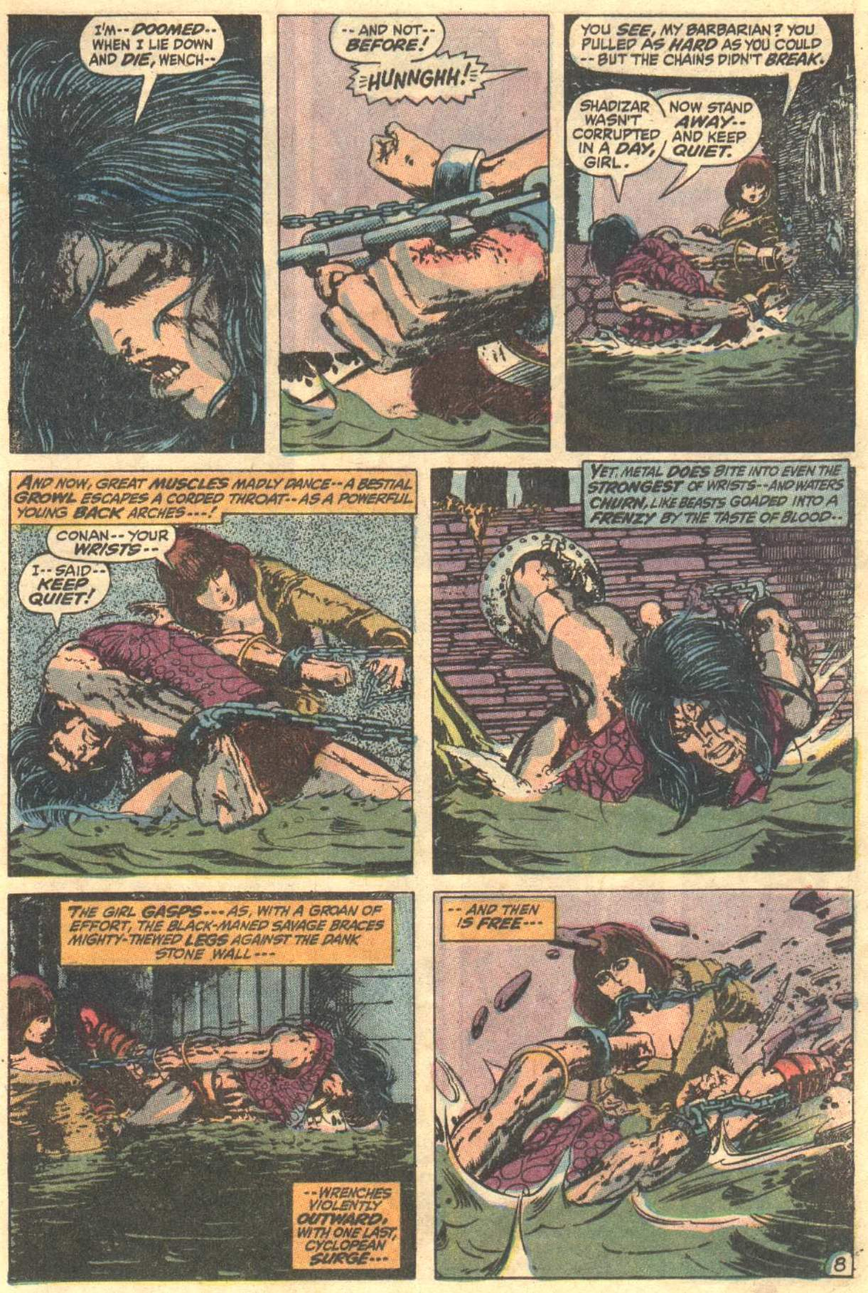 Conan the Barbarian (1970) Issue #12 #24 - English 9