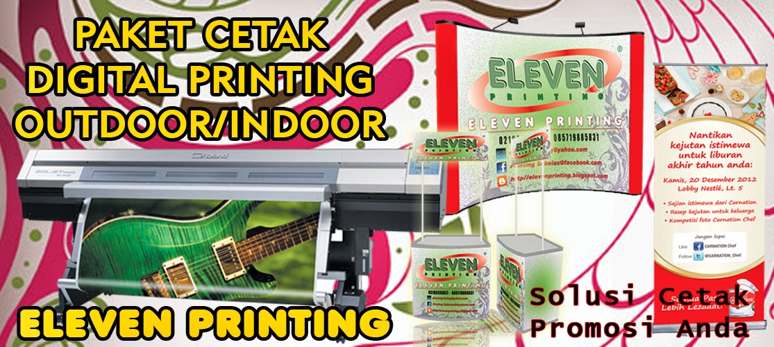 DIGITAL PRINTING OUTDOOR/INDOOR
