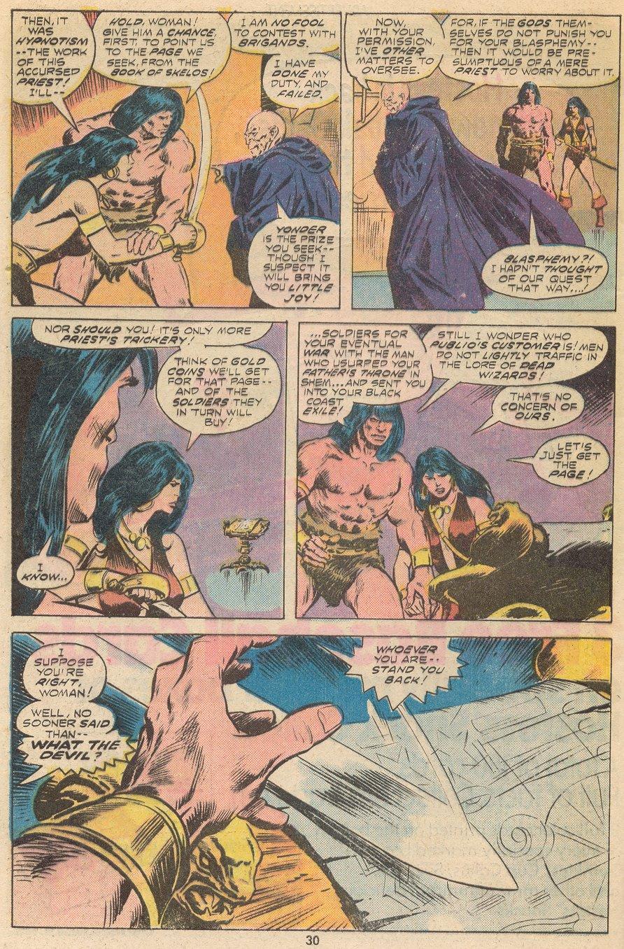 Conan the Barbarian (1970) Issue #66 #78 - English 19