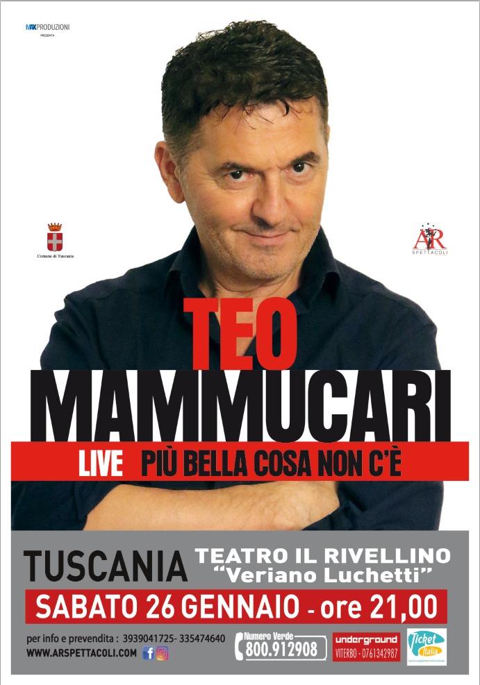 Teo Mammuccari Tuscania 26 Gennaio