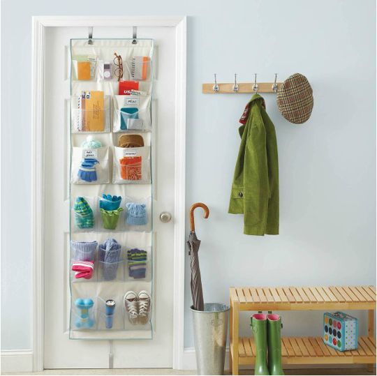 Use The Back Of Your Door To Hang Things