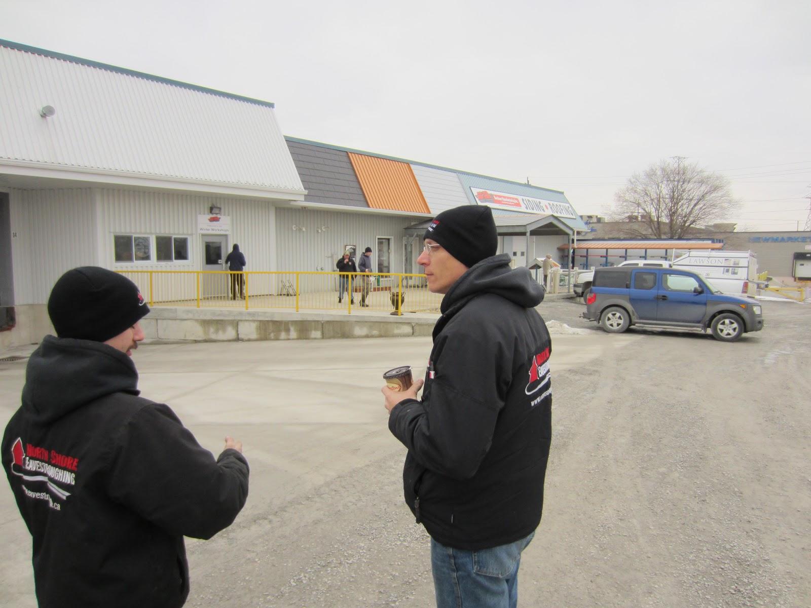 Toronto Eavestroughing Buchner Winter Workshop