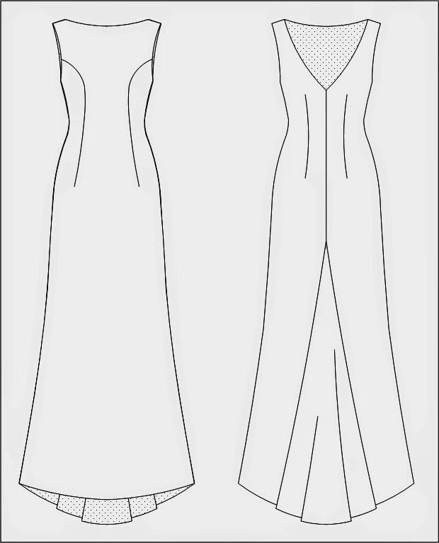 Gowns tech flat