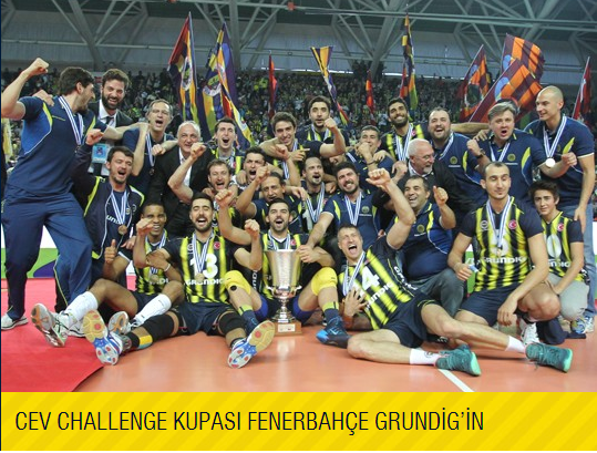 2013-2014 CEV CHALLANGE CUP ŞAMPİYONU