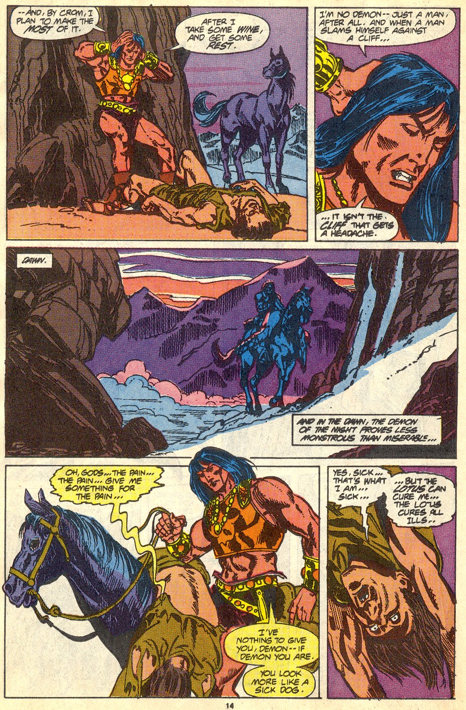 Conan the Barbarian (1970) Issue #230 #242 - English 11