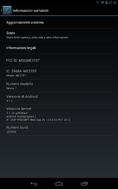 flash android 4.1.2 on nexus 7