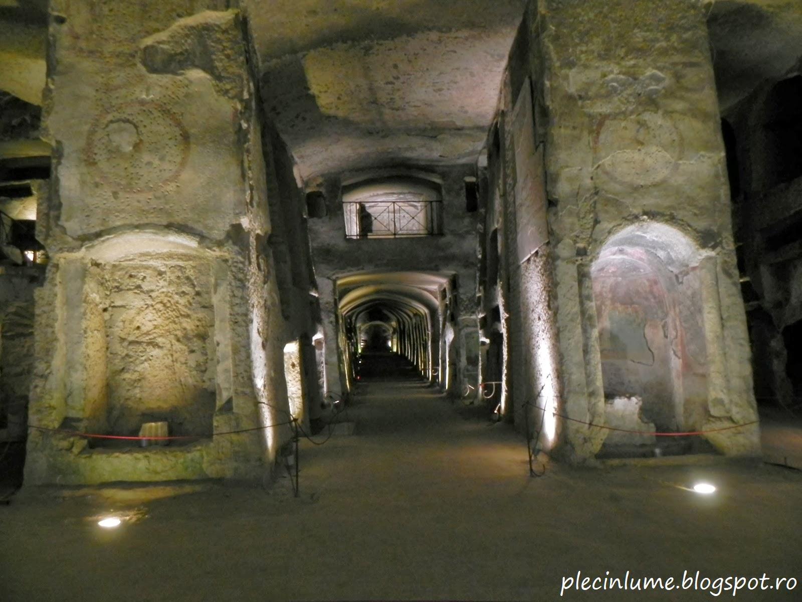 Nivelul -2 al catacombelor orasului Napoli