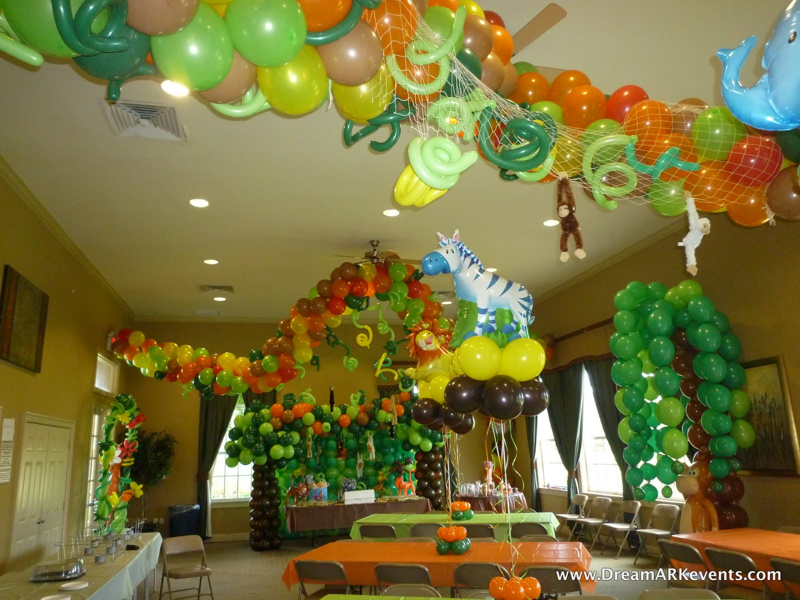 DreamARK Events Blog Tropical Jungle Birthday Party