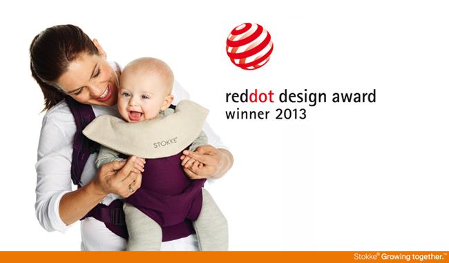Stokke MyCarrier wins reddot design award