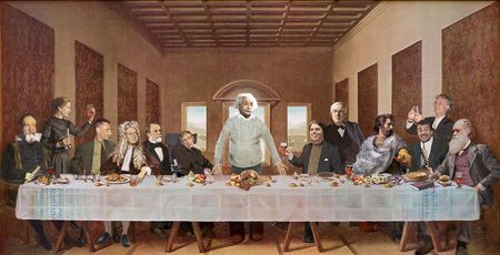 einstein and atheist picture