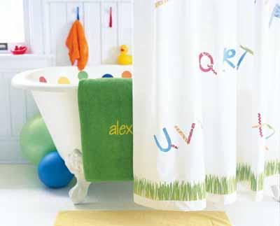 Kindergarten and mooneyisms another summer activity for for Summer bathroom decor