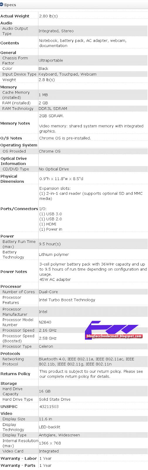 Harga Dan Spesifikasi Lenovo Chromebook N21