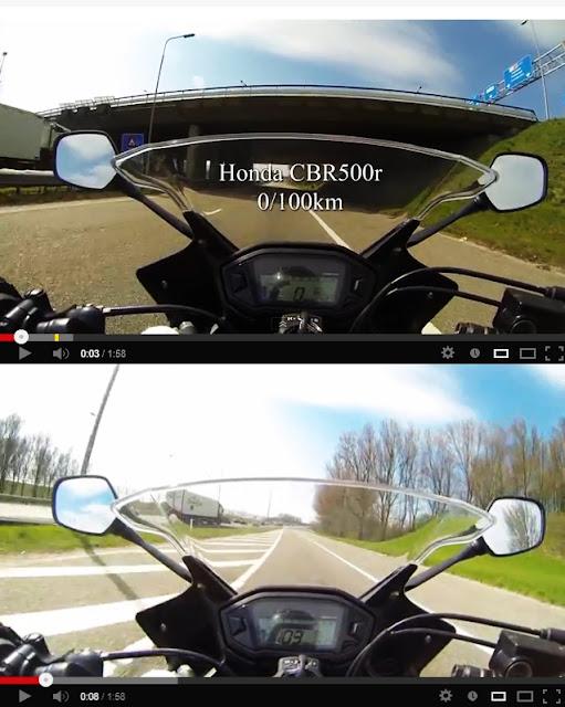 Honda CBR400R top 0 100 kph estimation %25282%2529