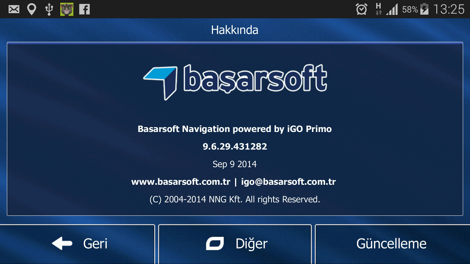 Başarsoft Navigation Turkey Apk