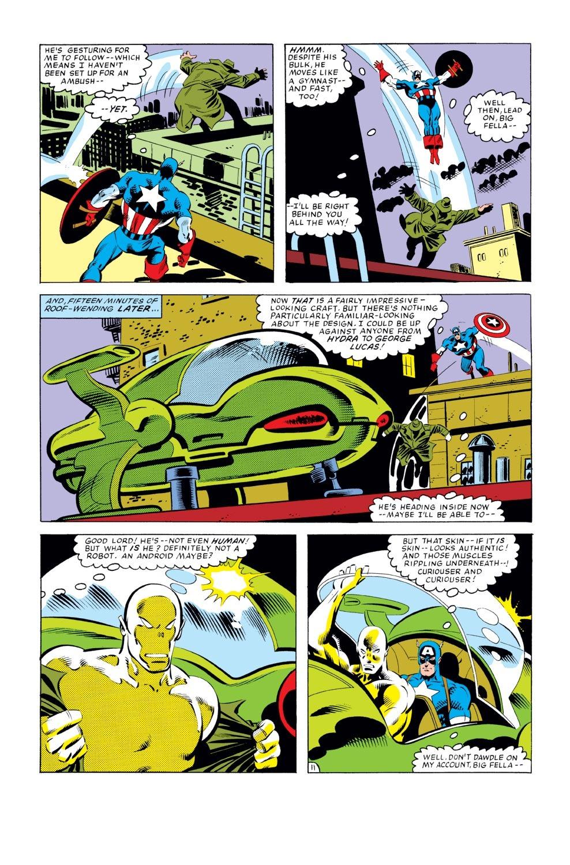 Captain America (1968) Issue #276 #192 - English 12