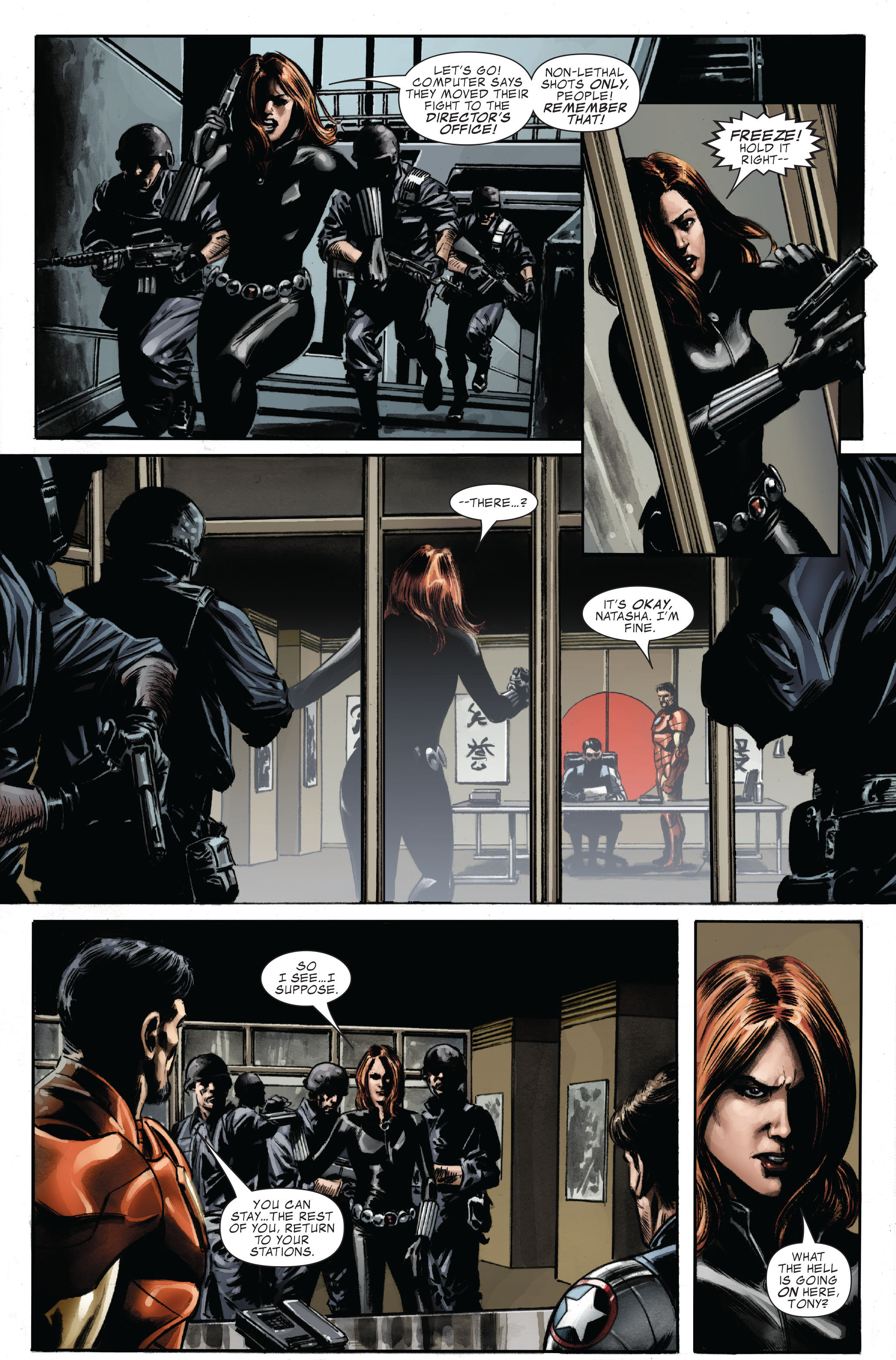 Captain America (2005) Issue #33 #33 - English 19