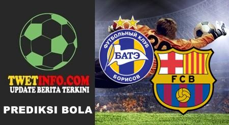 Prediksi BATE vs Barcelona